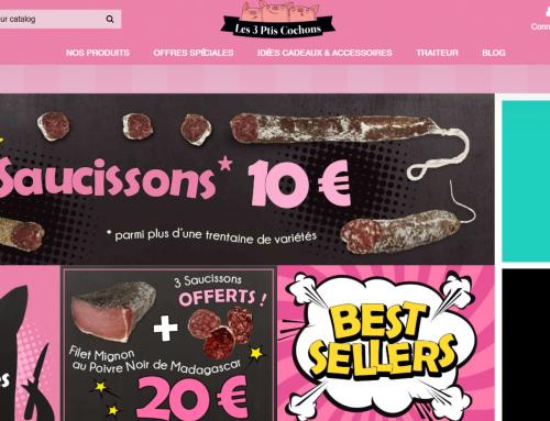 Site – Les 3 ptis cochons